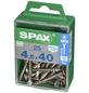 SPAX Edelstahlschraube, T-STAR plus, 25 Stk., 4,5 x 40 mm-Thumbnail