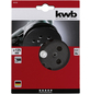 KWB Ersatzschleifteller, Schwarz, 125 mm Durchmesser-Thumbnail