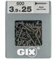 SPAX Feingewindeschraube, 3,9 mm, Stahl, 600 Stk., GIX A 3,9x25 XL-Thumbnail