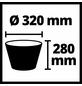 EINHELL Feinstaubfiltersystem, BxHxL: 31,5 x 22 x 31,5 cm, Kunststoff/Stoff-Thumbnail