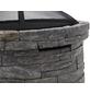 TEPRO Feuerstelle, Ø 67,5 cm, Höhe: 59 cm, schwarzgrau-Thumbnail