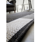 ANDIAMO Flachgewebe-Teppich »Louisiana«, BxL: 120 x 170 cm, anthrazit/silberfarben-Thumbnail