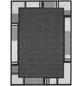 ANDIAMO Flachgewebe-Teppich »Louisiana«, BxL: 160 x 230 cm, silberfarben/anthrazit-Thumbnail