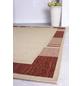 ANDIAMO Flachgewebe-Teppich »Louisiana«, BxL: 60 x 110 cm, terrakottafarben/beige-Thumbnail