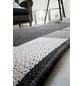 ANDIAMO Flachgewebe-Teppich »Louisiana«, BxL: 67 x 140 cm, anthrazit/silberfarben-Thumbnail