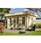 SKANHOLZ Gartenhaus »Basel 2«, BxT: 460 x 440 cm (Aufstellmaße), Flachdach-Thumbnail