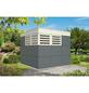 SKANHOLZ Gartenhaus »Perth 3«, BxT: 253 x 253 cm (Aufstellmaße), Flachdach-Thumbnail