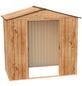 TEPRO Gerätehaus »Riverton«, Außenmaße B x T x H: 201  x 122,2  x 189,2  cm-Thumbnail
