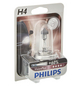 PHILIPS Halogenlampe, VisionPlus, H4, P43t-38, 55 W, 1 Stück-Thumbnail