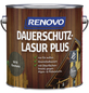 RENOVO Holzschutz-Lasur »PLUS« für außen, 4 l, Ebenholz-Thumbnail