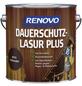 RENOVO Holzschutz-Lasur »PLUS« für außen, 4 l, Palisander-Thumbnail