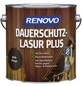 RENOVO Holzschutz-Lasur »PLUS« für außen, 4 l, Wenge-Thumbnail