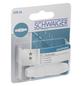 SCHWAIGER IEC-Verbinder, Weiß, Kunststoff, Koaxialkabel-Thumbnail