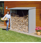 BIOHORT Kaminholzlager »WoodStock 150«, BxHxL: 157 x 199 x 102 cm, silber-metallic-Thumbnail