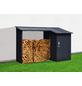 FLORAWORLD Kaminholzregal, BxHxL: 270 x 158 x 105 cm, anthrazit-Thumbnail