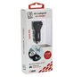 2GO Kfz-Ladegerät, Silber | Schwarz, 1x USB-Buchse 2,4 A, 1x USB-Buchse 1 A-Thumbnail