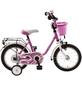 BACHTENKIRCH Kinderfahrrad »My Bonnie«, 1 Gang, U-Type Rahmen, Pink-Weiß-Thumbnail