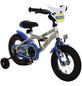 BACHTENKIRCH Kinderfahrrad »Polizei «, 1 Gang, Kuma-Type Rahmen, Blau-Silber-Neongelb-Thumbnail
