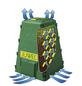 JUWEL Komposter, AEROQUICK, Kunststoff, Grün-Thumbnail