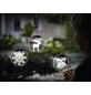 Krinner LED-Fensterbild »Lumix Deco Lights«, Glocken, rund, ø: 10 cm, Batteriebetrieb-Thumbnail