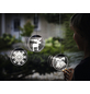 Krinner LED-Fensterbild »Lumix Deco Lights«, Kerzen, rund, ø: 10 cm, Batteriebetrieb-Thumbnail