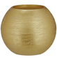 CASAYA LED-Kerze »Rustic«, Ø 12 cm, goldfarben, 3D-Flacker-Effekt, Timer-Thumbnail