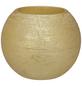 CASAYA LED-Kerze »Rustic«, Ø 7,5 cm, goldfarben, 3D-Flacker-Effekt, Timer, inkl. Batterien-Thumbnail