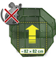 JUWEL Nagetierschutz Komposter, Kunststoff, Grün-Thumbnail