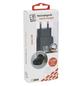 2GO Netzladegerät, Schwarz, 2x USB-Buchse-Thumbnail