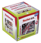 FISCHER Nylon Dübel, DuoLine, Nylon, 50 Stück, 8 x 65 mm-Thumbnail