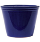Kirschke Pflanzgefäß »Lemgo«, ØxH: 25 x 20 cm, blau-Thumbnail