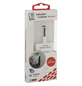 2GO QI-Empfänger, Weiß   Schwarz, Micro-USB-Stecker-Thumbnail