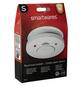 SMARTWARES Rauchmelder, fotoelektrischer Sensor, weiß-Thumbnail