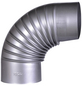 FIREFIX® Rauchrohrbogen, Ø: 13 cm, Stärke: 0,6 mm, Stahl-Thumbnail