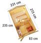 KARIBU Saunahaus »Goldingen«, BxTxH: 231 x 273 x 235 cm, 9 kW Ofen mit ext. Steuerung-Thumbnail