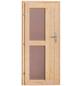 KARIBU Saunahaus »Schwanenburg 3«, BxTxH: 393 x 231 x 239 cm, ohne Ofen-Thumbnail