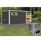 KARIBU Saunahaus »Walk«, BxTxH: 508 x 276 x 210 cm, 9 kW Ofen mit ext. Steuerung-Thumbnail
