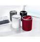 KLEINE WOLKE Schwingdeckeleimer CLAP zylindrisch Kunststoff platin Ø 19 x 24,5 cm-Thumbnail
