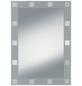 KRISTALLFORM Siebdruckspiegel »Domino«, rechteckig, BxH: 50 x 70 cm-Thumbnail