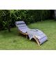 BELLAVISTA Sonnenliege »Cantania XL«, holz, inkl. Auflage-Thumbnail