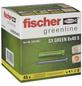 FISCHER Spreizdübel, SX GREEN, Nylon, 45 Stück, 8 x 40 mm-Thumbnail