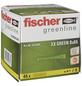 FISCHER Spreizdübel, SX GREEN, Nylon, 45 Stück, 8 x 65 mm-Thumbnail