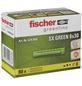 FISCHER Spreizdübel, SX GREEN, Nylon, 90 Stück, 6 x 30 mm-Thumbnail