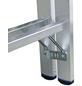 KRAUSE Sprossen-Doppelleiter »STABILO«, 12 Sprossen, Aluminium-Thumbnail