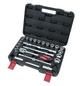 CONNEX Steckschlüsselsatz 26-teilig, Schlüsselgröße: 10 – 24; 27; 30; 32 mm-Thumbnail