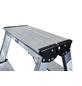 KRAUSE Stufen-Doppelleiter »MONTO Dopplo«, 16 Sprossen, Aluminium-Thumbnail