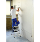 KRAUSE Stufen-Doppelleiter »MONTO Dopplo«, 6 Sprossen, Aluminium-Thumbnail