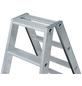 KRAUSE Stufen-Doppelleiter »STABILO«, 14 Sprossen, Aluminium-Thumbnail