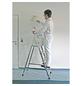 KRAUSE Stufen-Stehleiter »CORDA«, 5 Sprossen, Aluminium-Thumbnail