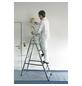 KRAUSE Stufen-Stehleiter »CORDA«, 6 Sprossen, Aluminium-Thumbnail